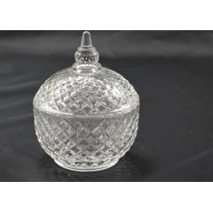 GLASS FEELING Cukornička sklenená  13x10 cm