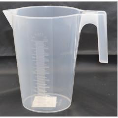 HOBBY PLASTIC Džbán plastový s odmerkou 1 l