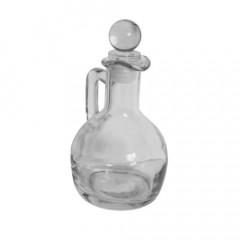 GLASS FEELING Fľaška sklenená s uchom 100 ml