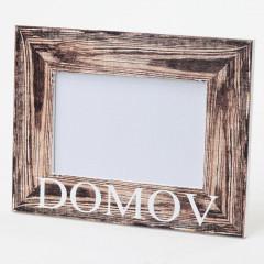 PHOTO SKILL Fotorámik drevený DOMOV