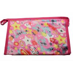 ACCESSORIES & STYLE Kozmetická taška 22x14 cm ružová so zvieraťom