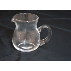 GLASS FEELING Džbánik sklenený 5,7x7,5cm 120 ml