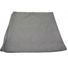 HOME DECO Obliečka na vankúš 38x38 cm, kvalitný zips, pevný materiál odtieň sivá