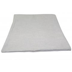 HOME DECO Obliečka na vankúš 38x38 cm, kvalitný zips, pevný materiál sivá svetlá