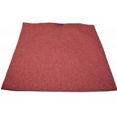 Obliečka na vankúš 38x38 cm, kvalitný zips, pevný materiál bordová