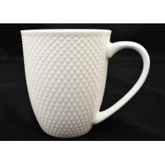 CERAMICS & GIFTS Hrnček keramický biely