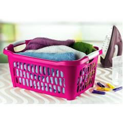 HOBBY PLASTIC Kôš na prádlo plastový 40 l rozmer 38,5x58x28cm