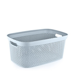 HOBBY PLASTIC Kôš na prádlo DIA0MOND 35 l