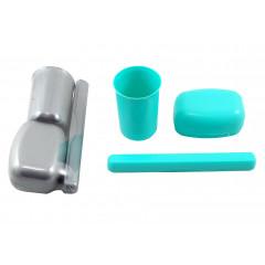 HOBBY PLASTIC Cestovná hygienická sada plastová 3 ks
