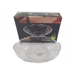GLASS FEELING Sklenená miska na pochutiny, šalat, sladkosti  19x14x5 cm