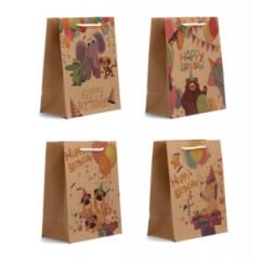 """GIFT BAG & BOX Darčeková taška  """"HAPPY BIRTHDAY"""" 32 x 26 x 12 cm"""