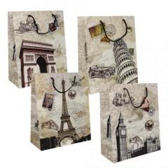GIFT BAG & BOX Darčeková taška  32x26x12 cm