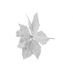 CHRISTMAS DECOR Kvet umelý 35 cm