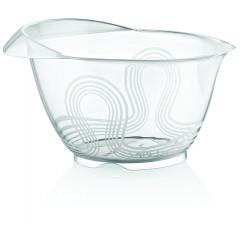 HOBBY PLASTIC Miska plastová na mixovanie transparentná 4 l rozmer 21x26x14,5 cm