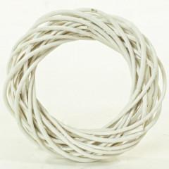 HOME DECO Veniec prútie biely 1/1 20x5cm