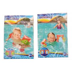 TOYS GAME Rukávniky na plávanie  DINO AND PAROT 23cm x 15cm drak