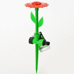 GARDEN FLOW Záhradný rozprašovač v tvare kvetu, zapichovací s reguláciou tlaku vody 34 cm